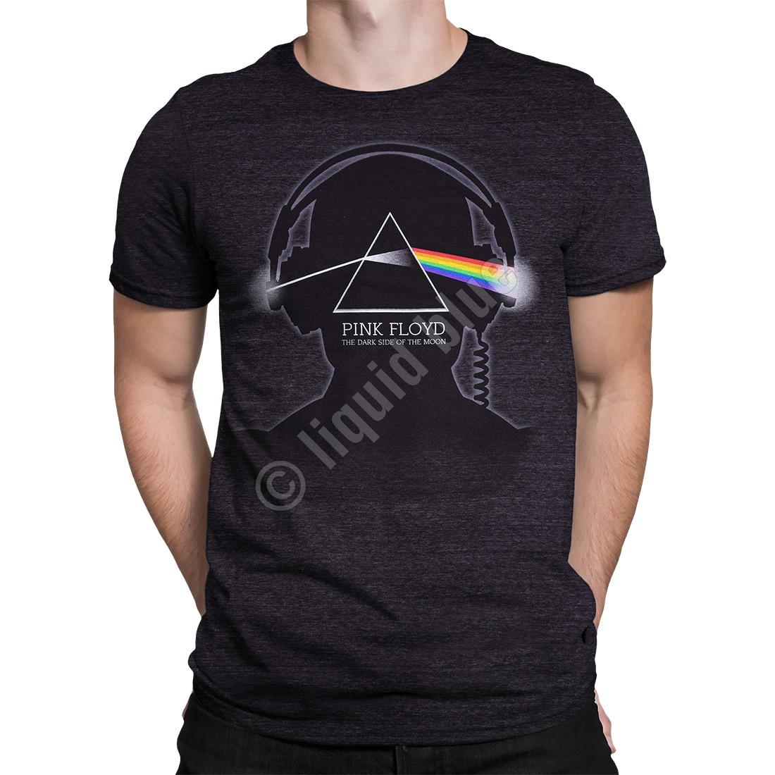 8116238a8 Pink Floyd Dark Side Beats Dark Heather Tri-Blend T-Shirt Tee Liquid ...