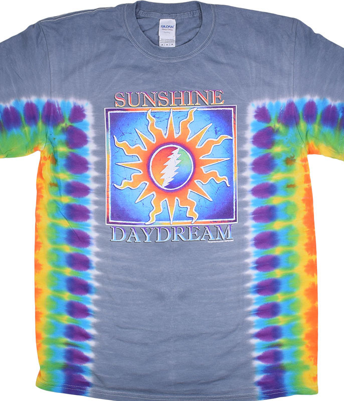 Grateful Dead Sunshine Daydream Tie-Dye T-Shirt Tee