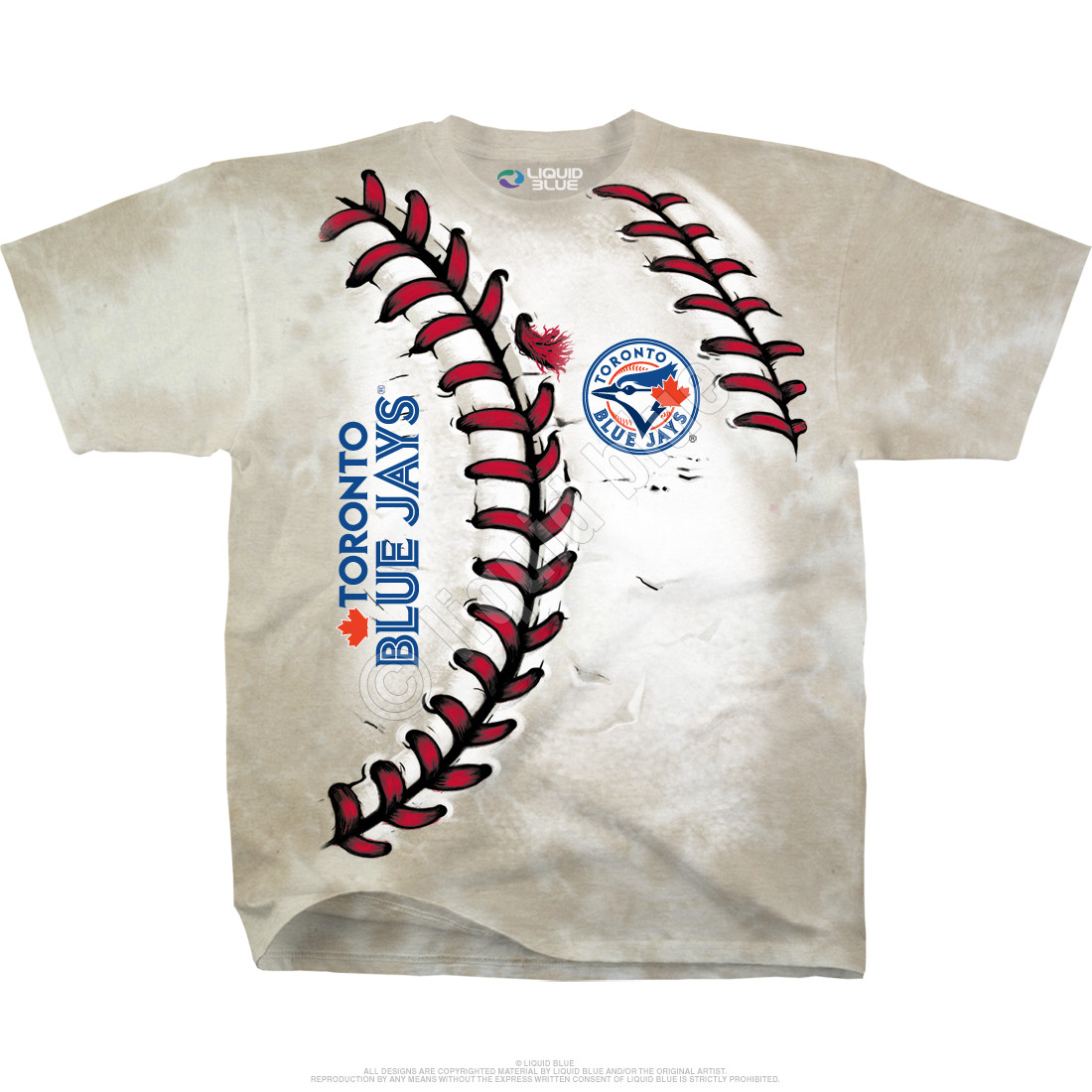 Toronto Blue Jays Youth Hardball Tie-Dye T-Shirt