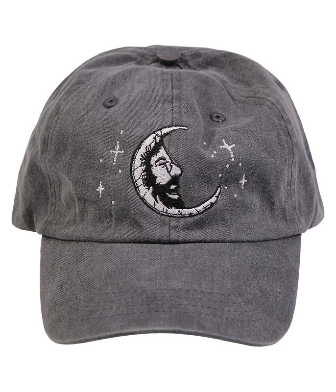 Grateful Dead Jerry Moon Grey Hat