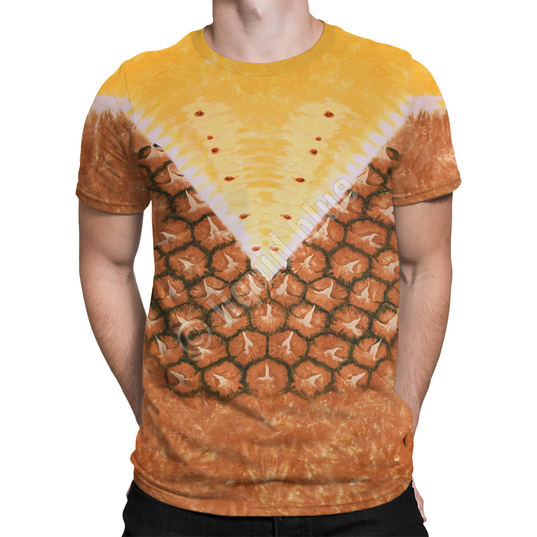 Pineapple Tie-Dye T-Shirt