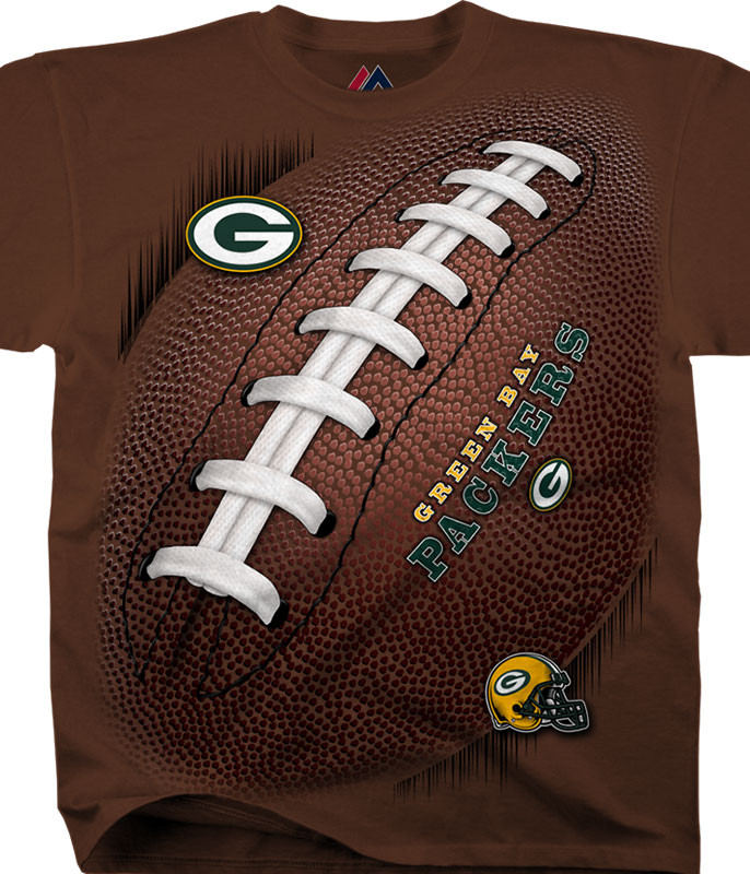 NFL Green Bay Packers Kickoff Tie-Dye T-Shirt Tee Liquid Blue