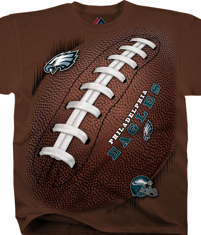 PHILADELPHIA EAGLES KICKOFF TIE-DYE T-SHIRT