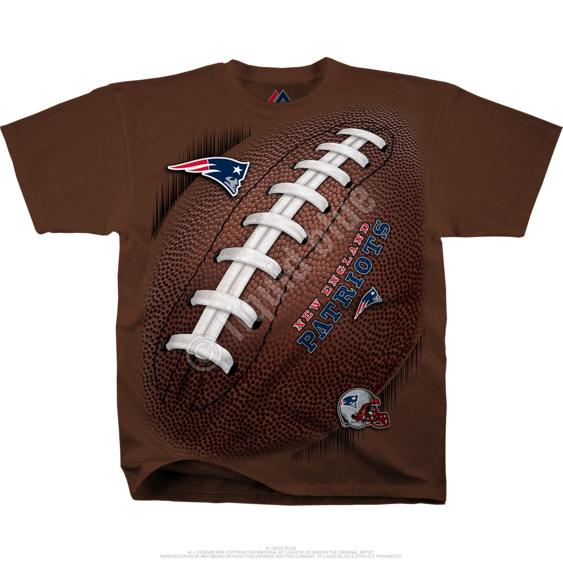New England Patriots Kickoff Tie-Dye T-Shirt