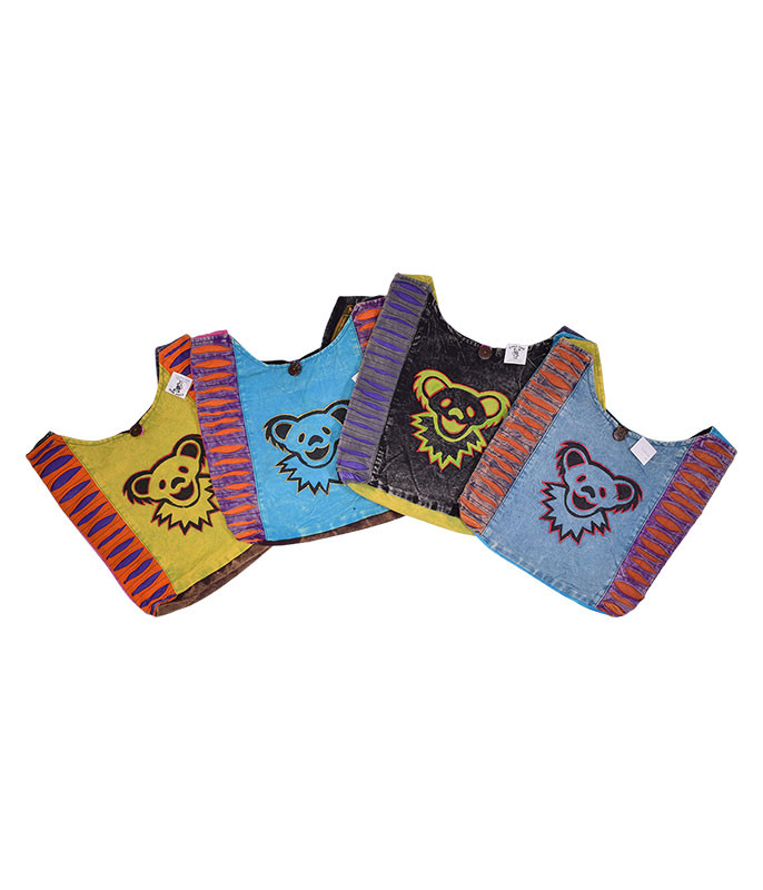 Grateful Dead GD Big Bear Face Assorted Peddler Bag