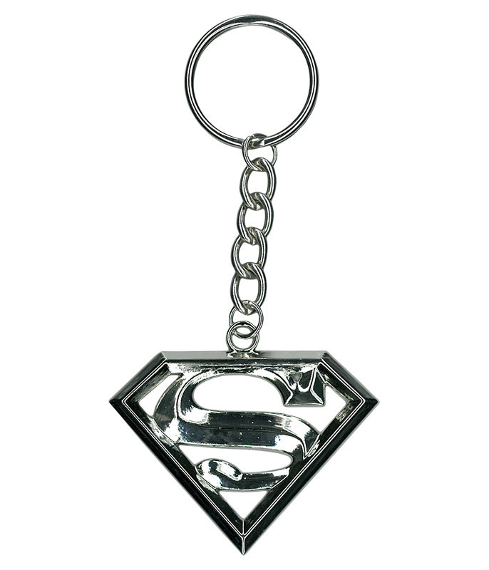 Superman Metal Keychain