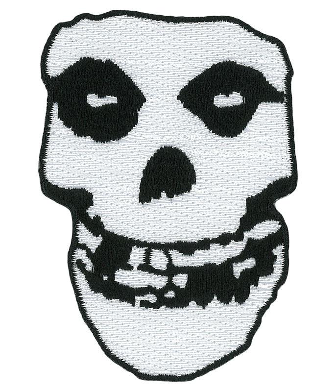 Misfits Skull Patch