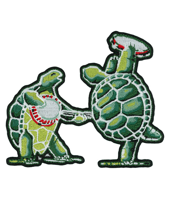 GD Dancing Terrapins Patch