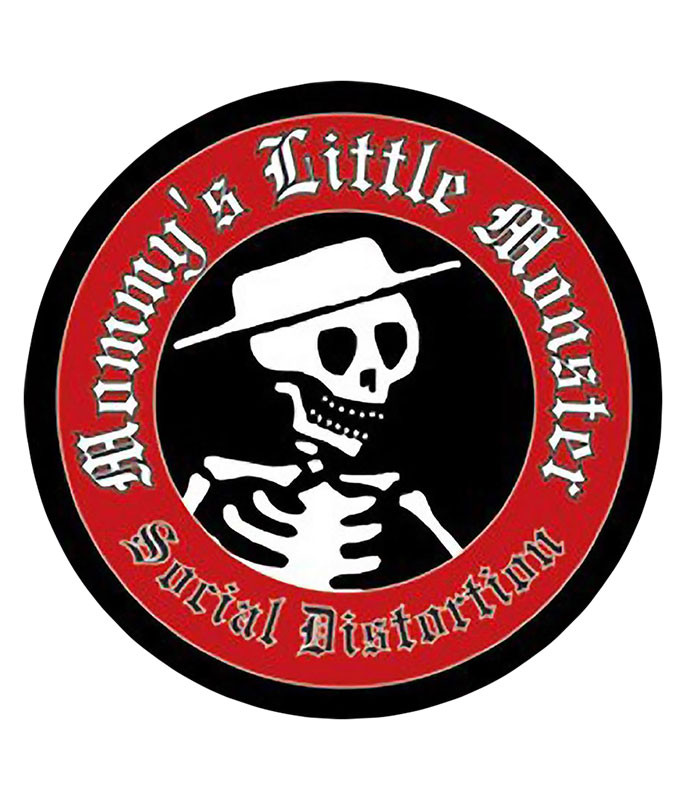 Social Distortion Skelly Pin