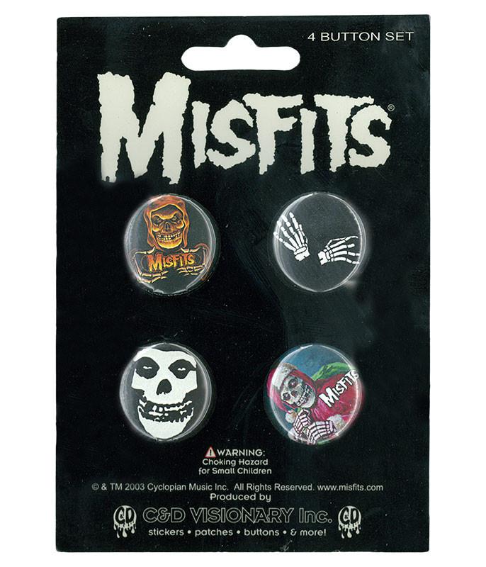 MISFITS 4 PIN SET