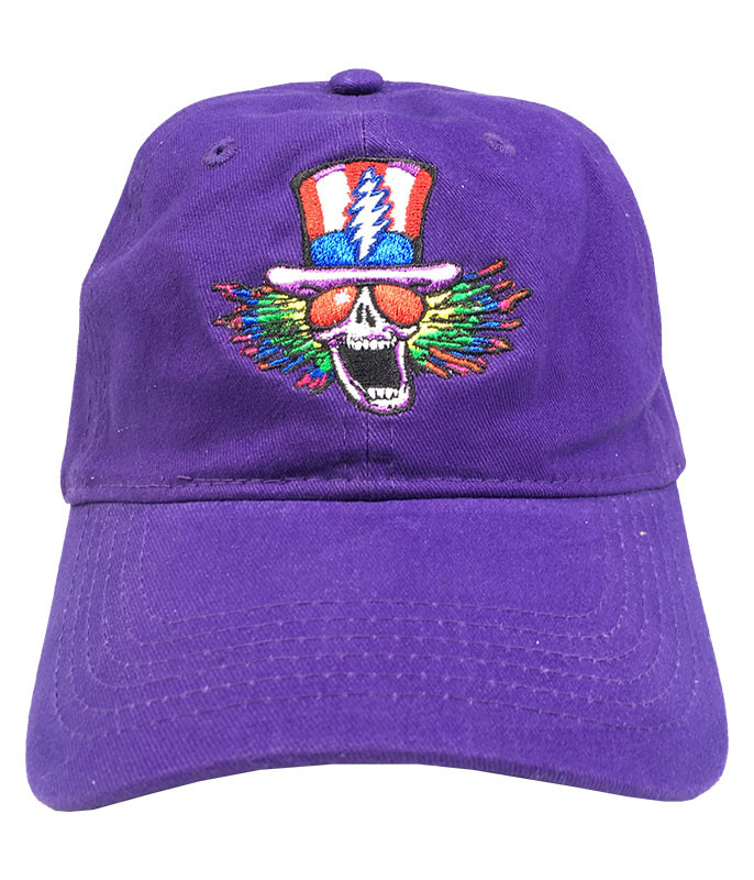 Grateful Dead GD Psycle Sam Purple Baseball Cap