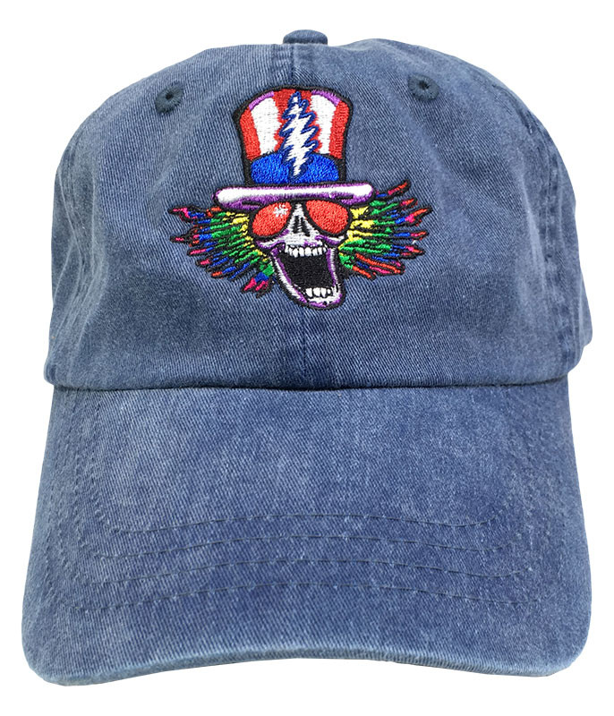 Grateful Dead GD Psycle Sam Denim Baseball Cap