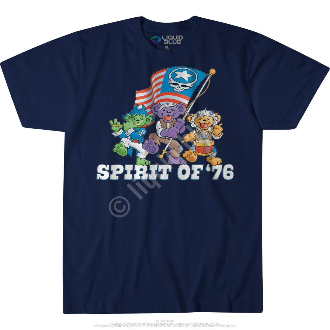 Spirit of '76 Custom T-Shirt