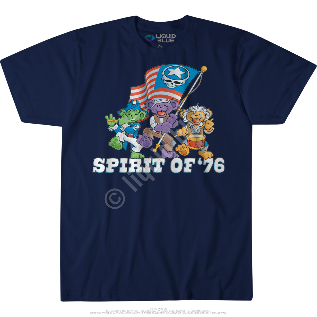 Spirit of 76 Custom T-Shirt
