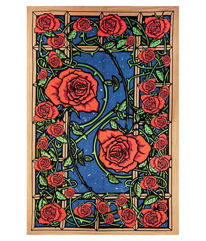 Rose Window 3D Tapestry
