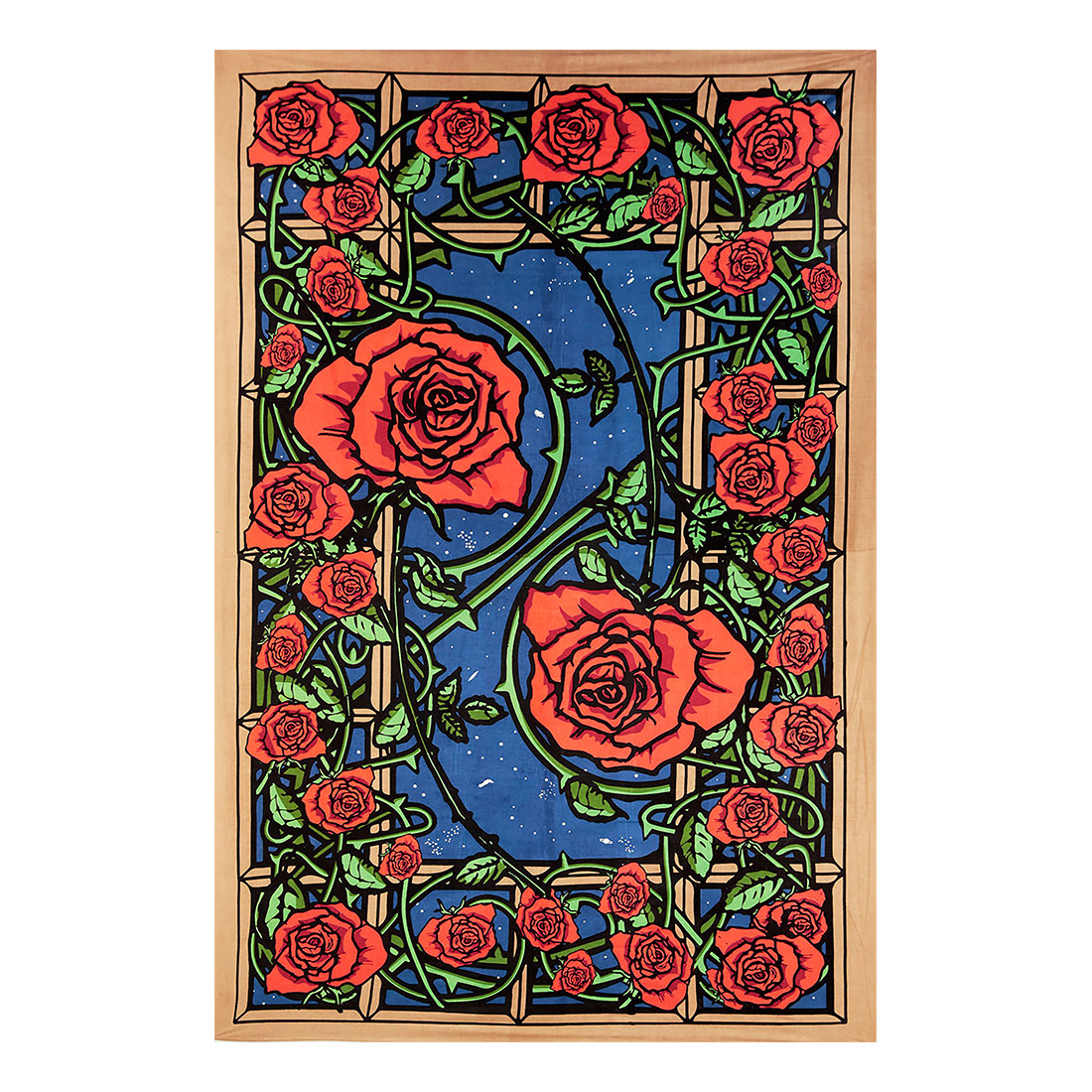 Rose Window 3D Tapestry