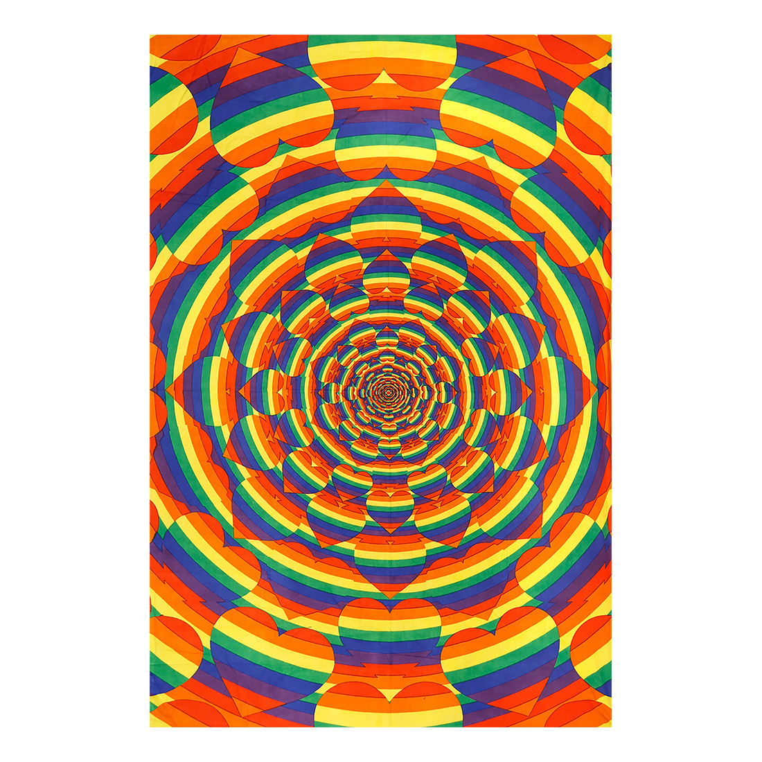 Equality Heart 3D Tapestry