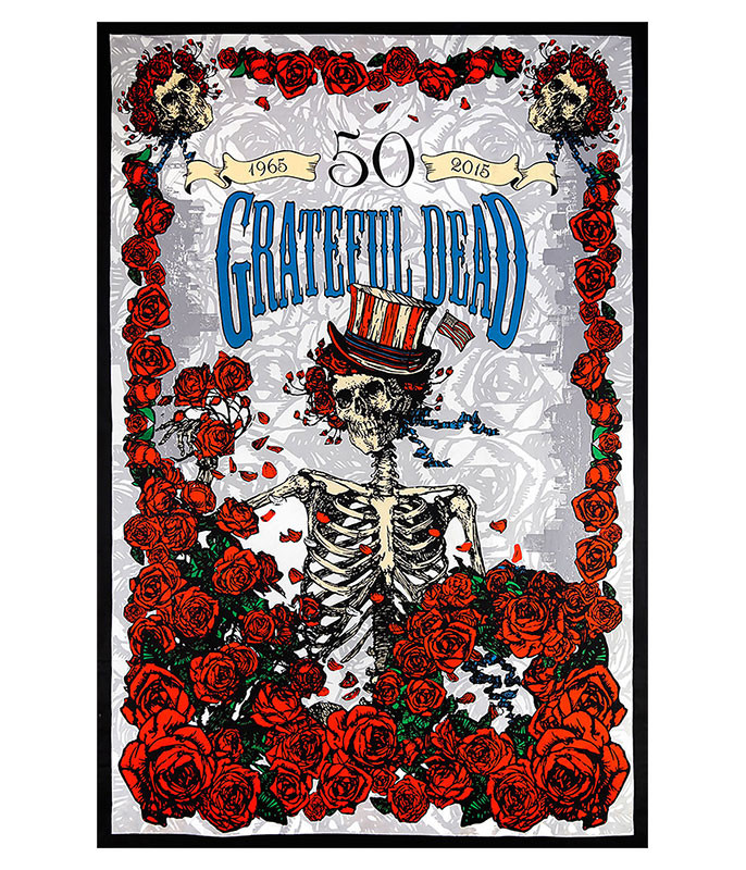Grateful Dead GD 50th Anniversary 3D Tapestry