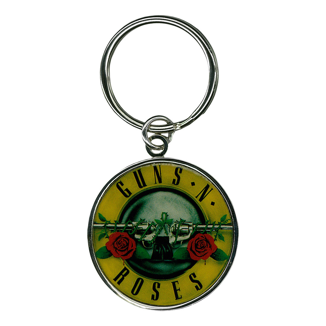 Guns N Roses Bullet Keychain