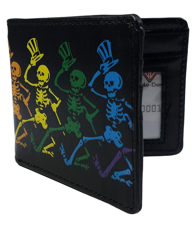 Grateful Dead GD Dancing Skeletons Bi-Fold Wallet
