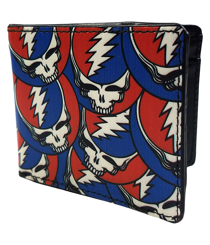 Grateful Dead GD SYF Collage Bi-Fold Wallet