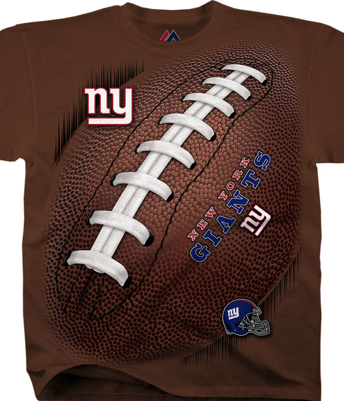 NFL New York Giants Kickoff Tie-Dye T-Shirt Tee Liquid Blue