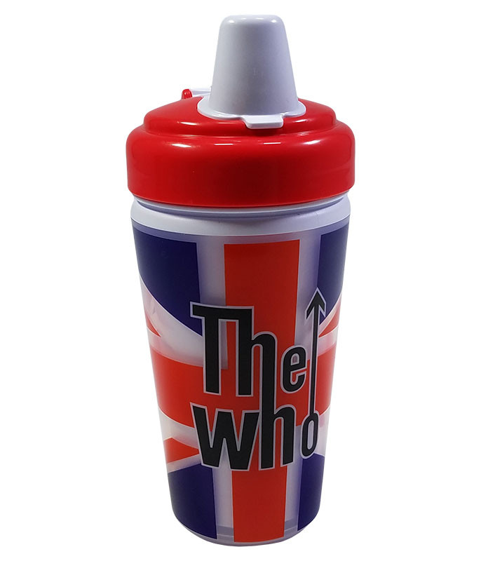 The Who Union Jack Flag Sippy Cup