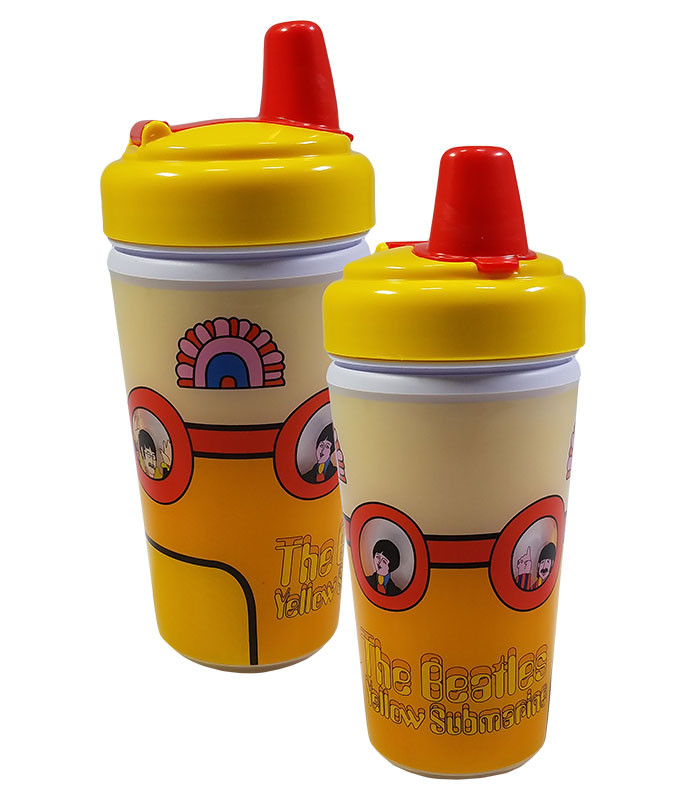 BEATLES YELLOW SUB SIPPY CUP