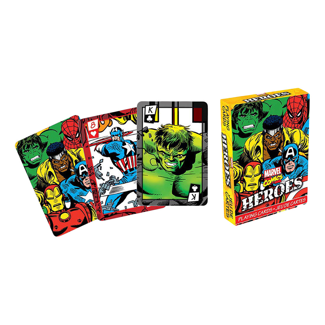 Marvel Heroes Playing Cards