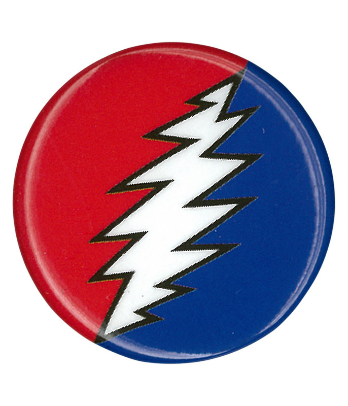 Grateful Dead GD Steal Your Bolt Pin