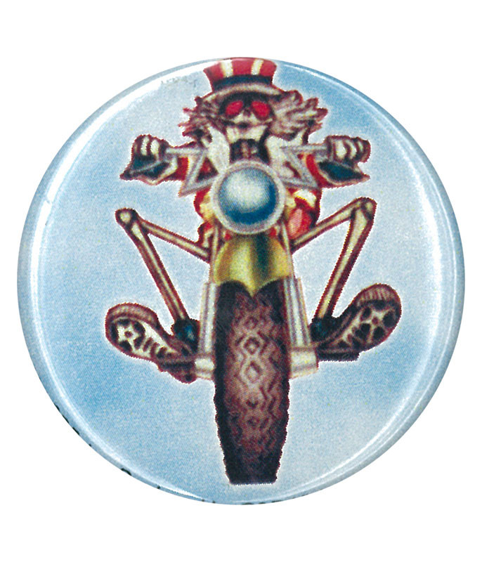 Grateful Dead GD Psycle Sam Pin