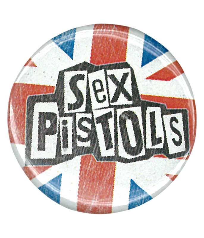 SEX PISTOLS LOGO PIN