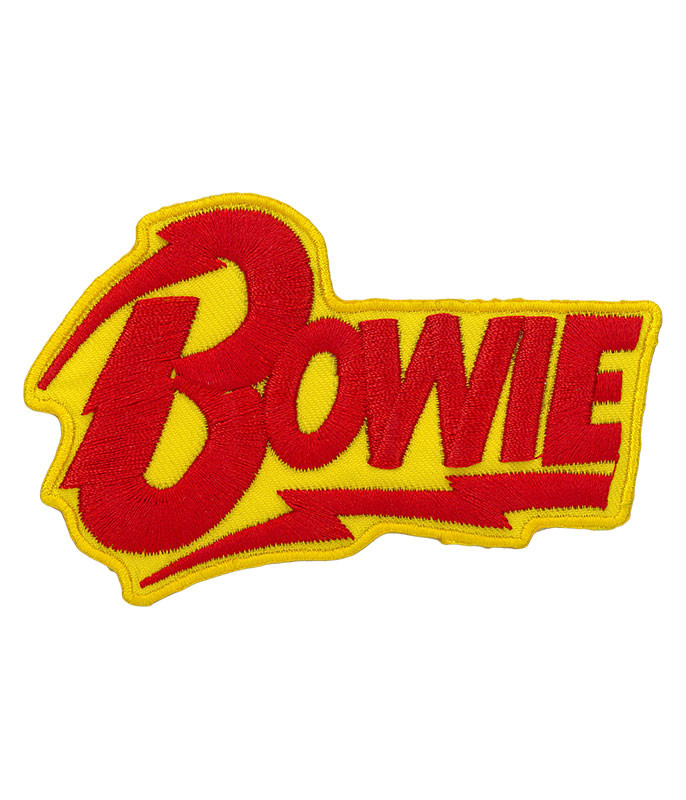 David Bowie Logo Patch