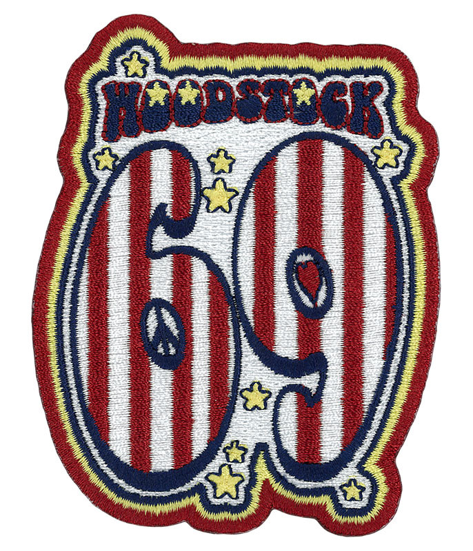 Woodstock 69 Patch