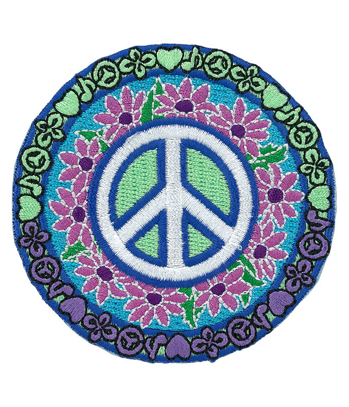 Love, Music and Peace Patch