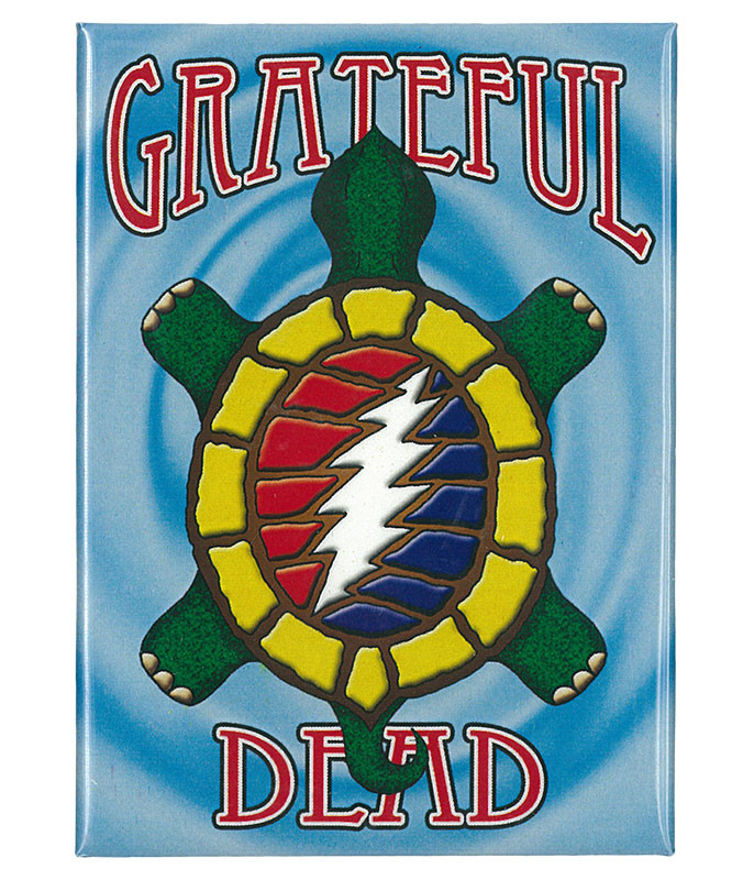 Grateful Dead GD Steal Your Terrapin Magnet