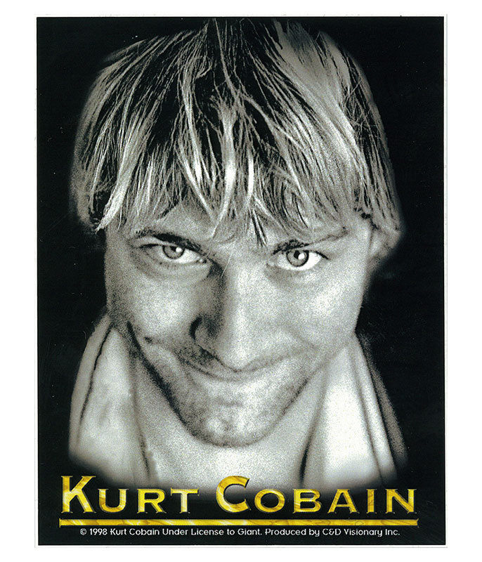 Nirvana Kurt Cobain Sticker