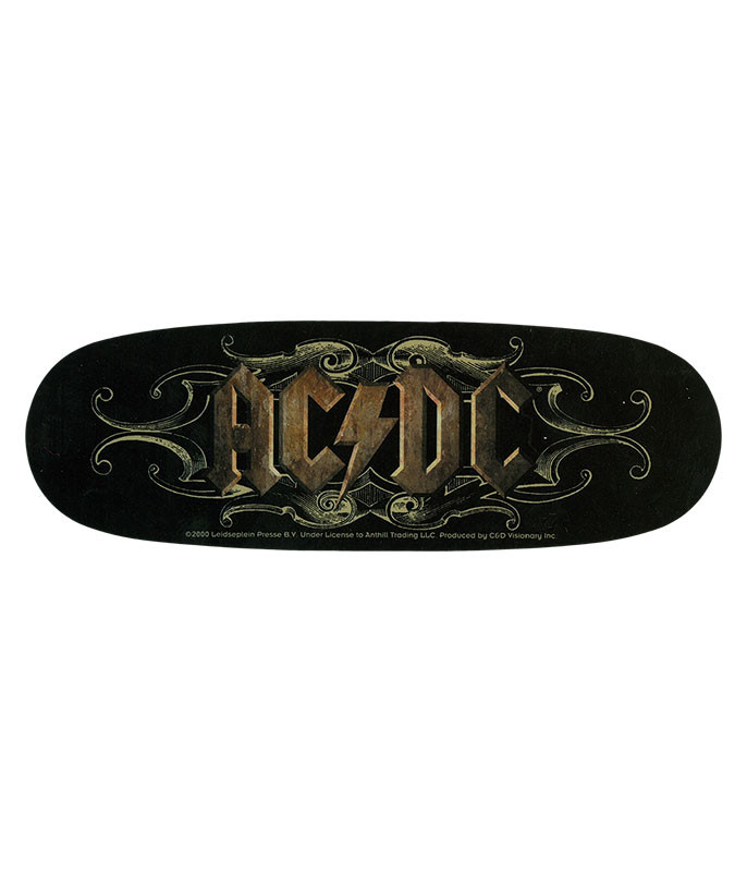 AC/DC Ornate Logo Sticker