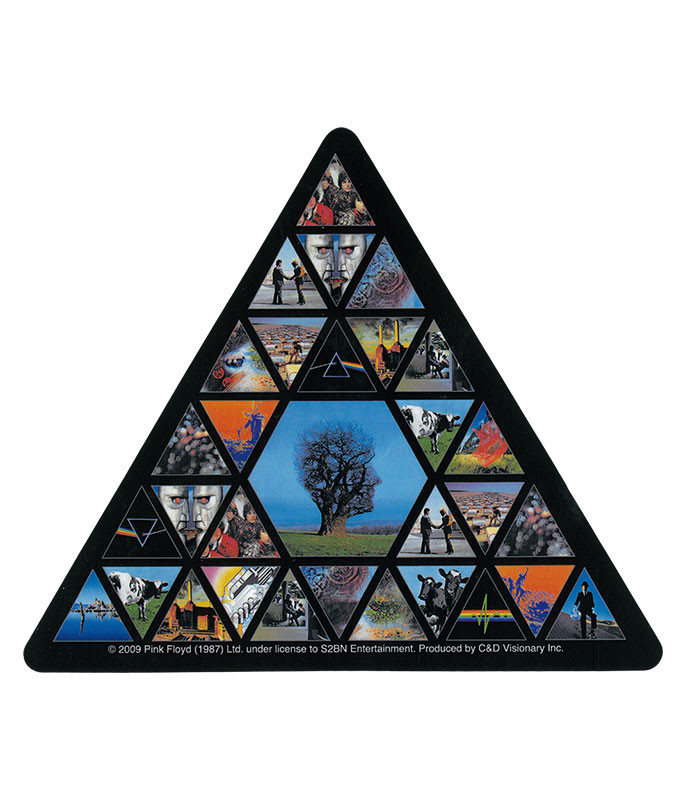 PF Albums Triangle Sticker