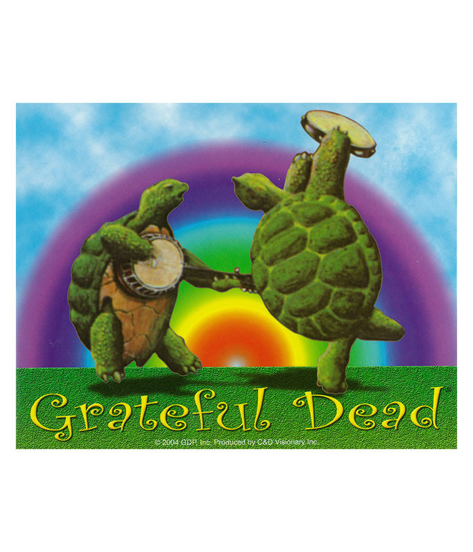 Grateful Dead GD Dancing Terrapins Sticker