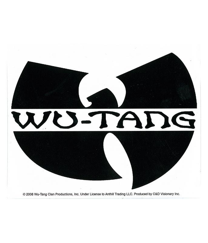 Wu-Tang Logo Sticker