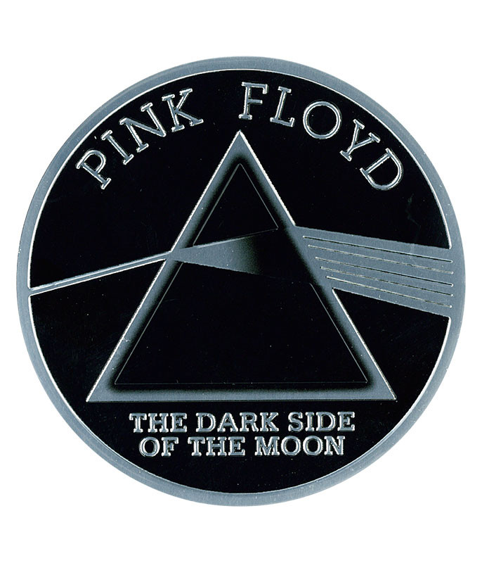 PF DARK SIDE METALLIC STICKER
