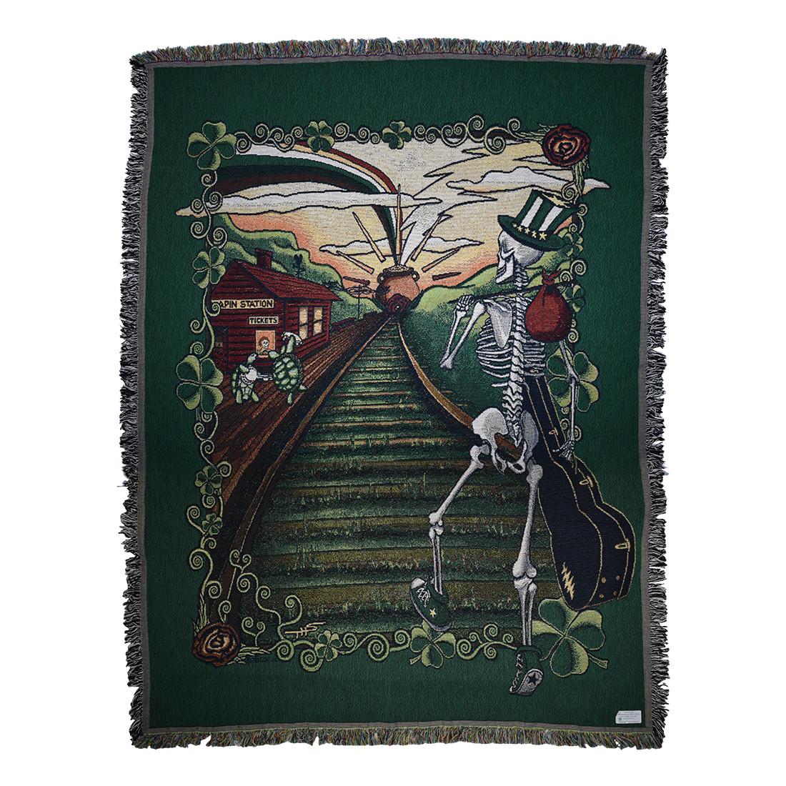 GD Lucky Sam Woven Blanket