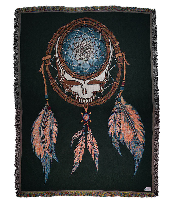 Grateful Dead GD Dream Catcher Woven Blanket