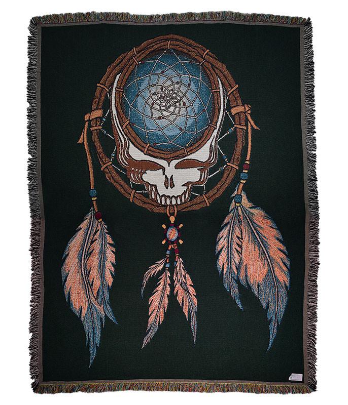 Grateful Dead GD Dream Catcher Woven Blanket