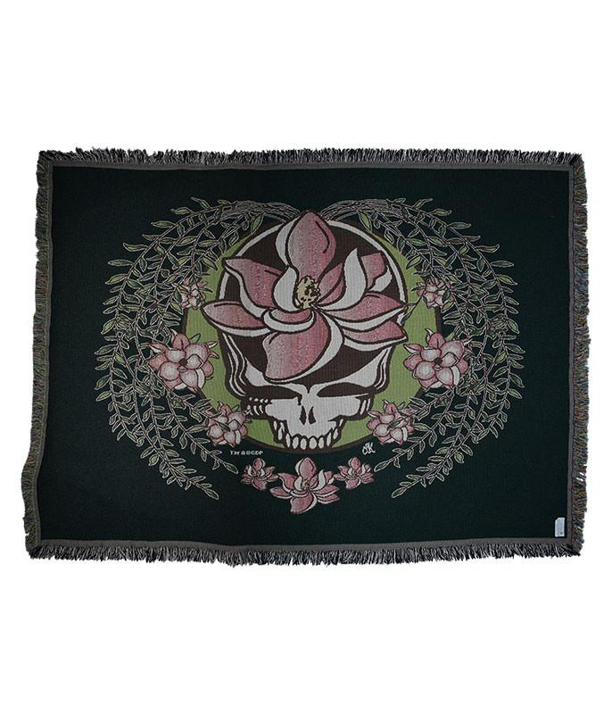 Grateful Dead GD Sugar Magnolia SYF Woven Blanket