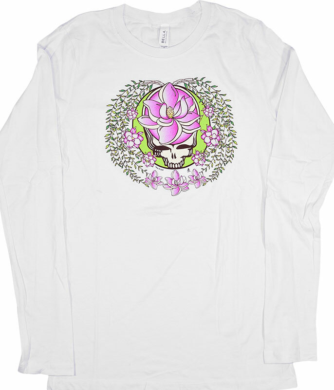 GD Sugar Magnolia SYF Womens White Long Sleeve T-Shirt
