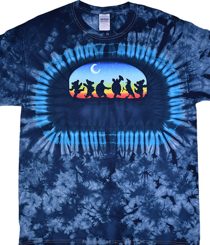 Grateful Dead GD Moondance Tie-Dye T-Shirt Tee