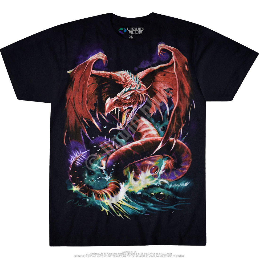 Great Wyrm Black T-Shirt