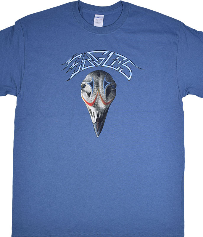 Eagles Greatest Hits Blue T-Shirt